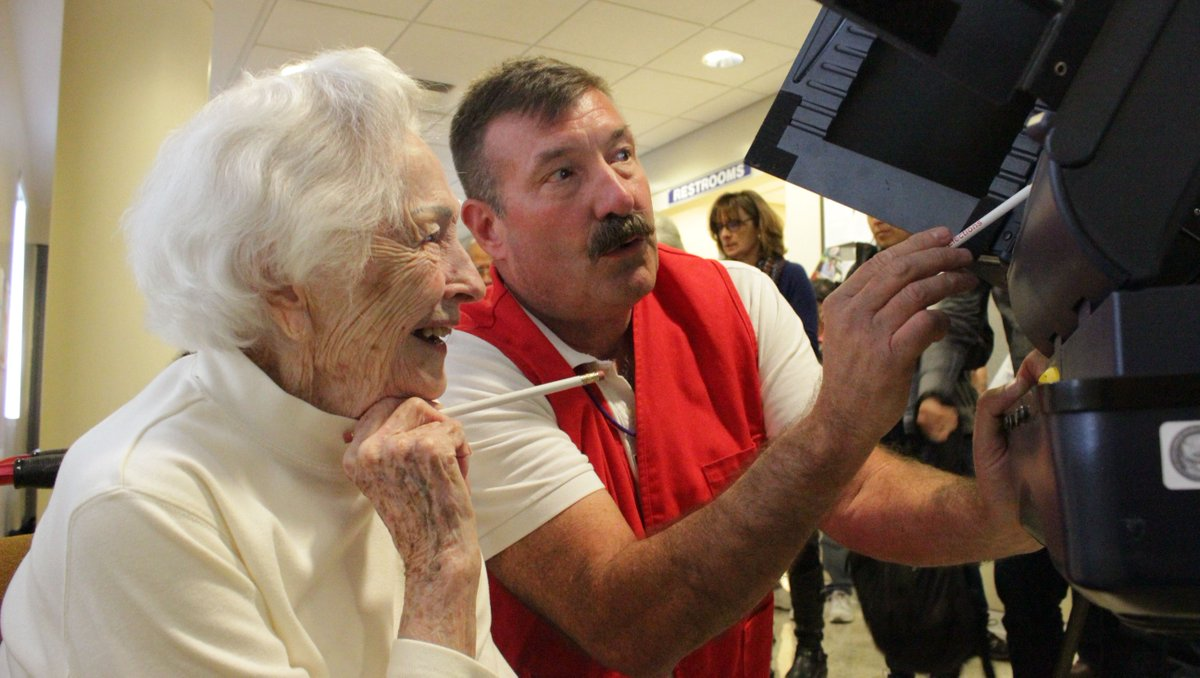 Clinton vote more than just a ballot to 100-year-old woman