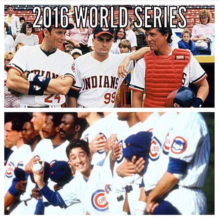 This is so awesome! Last time the @cubs won the pennant was 1945. #GoCubs (or was it 1993 w/ #HenryRowengartner?) https://t.co/h6bCNzEGpM