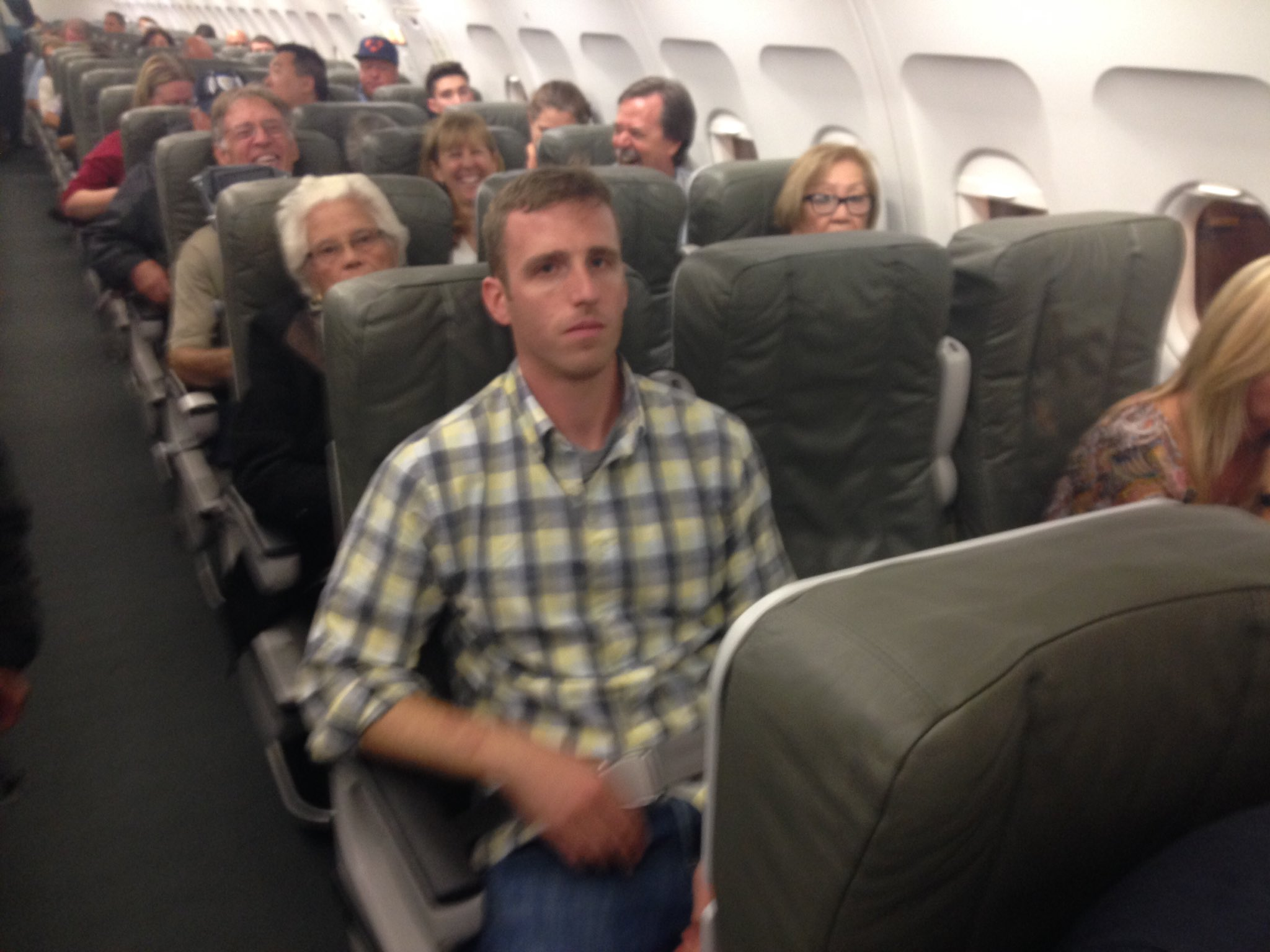 Thumbnail for Two women were harassed by a man  on the the board of plane in Texas