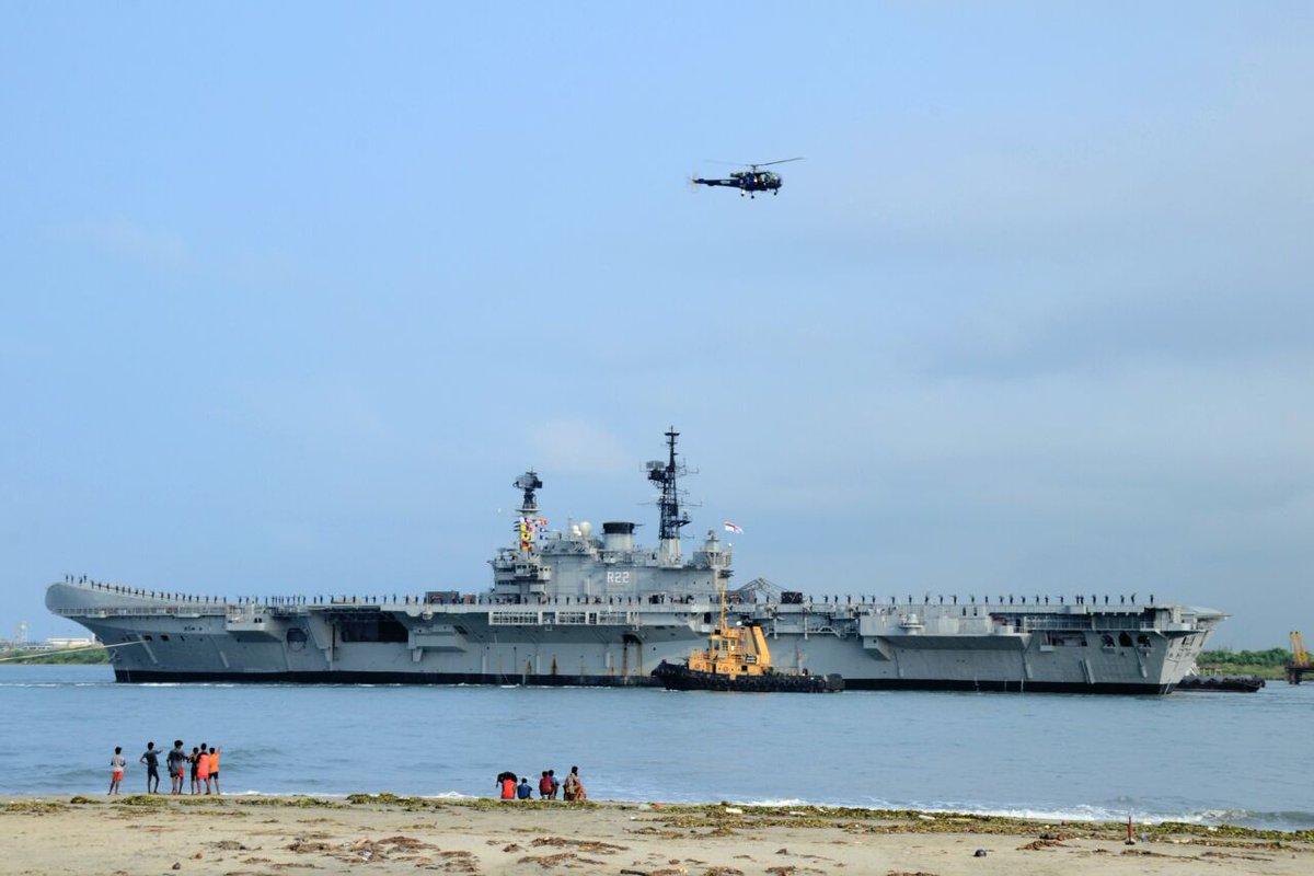 jugal r purohit on twitter aircraft carrier ins viraat bids 1 reply 1 retweet 1 like