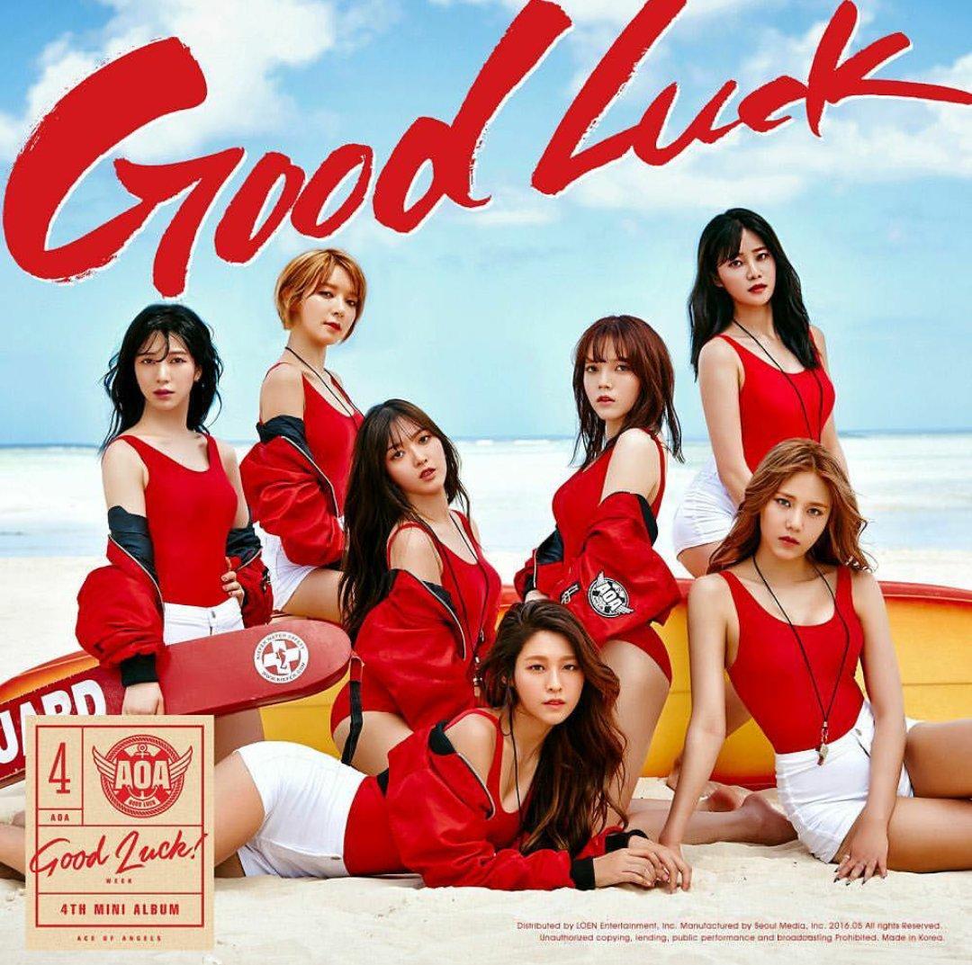 Image result for good luck aoa album