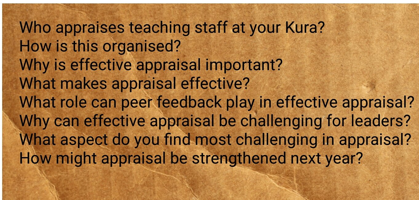 Thinking about end of year appraisal or ideas for 2017? Join #ldrchatnz  Thursday 28th October at 8.30pm. https://t.co/sg7qjKVtgm