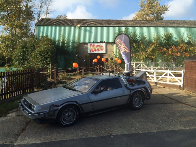 RT @BTTFCAR: @BBCRADIOKENT the @BTTFCAR is on display @Hopfarm come try out a hoverboard @hover_mania here till 4pm https://t.co/1JEU2thnSk