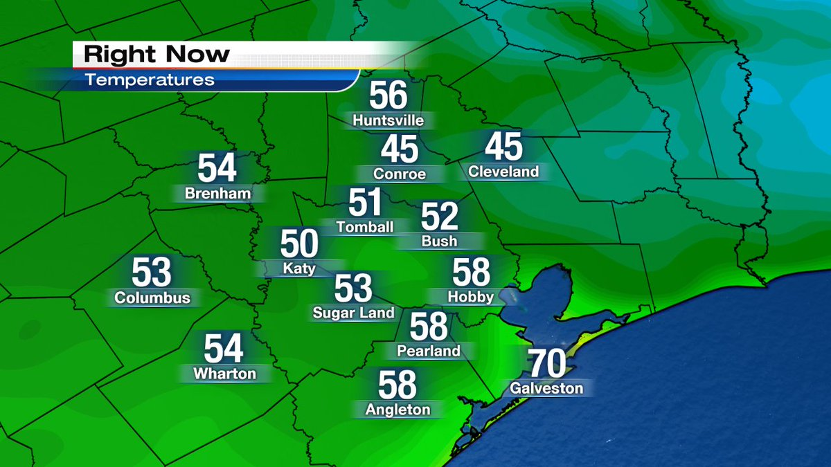 Cooler than normal but very nice Sunday morning temperatures!