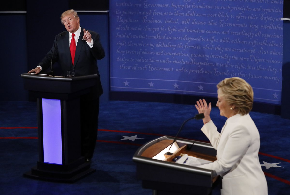 Donald Trump's 'nasty woman' remark adds to woes with female voters