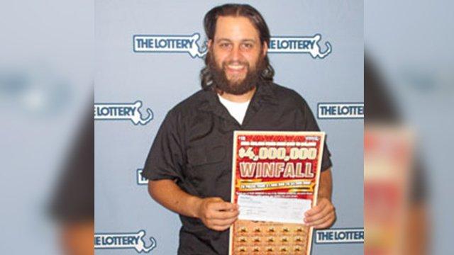Rockland man hits $4 million lottery jackpot on a $10 bet