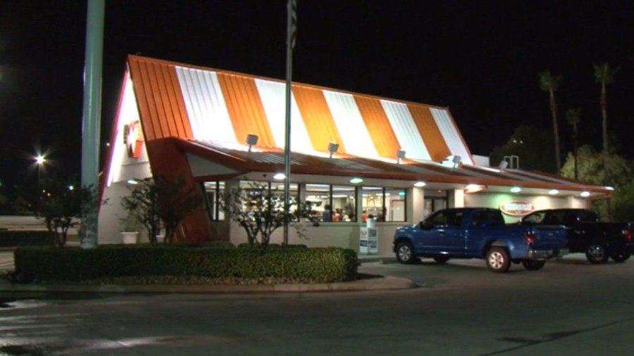 SUSPECT SEARCH: Two men rob a Whataburger in NW Houston.