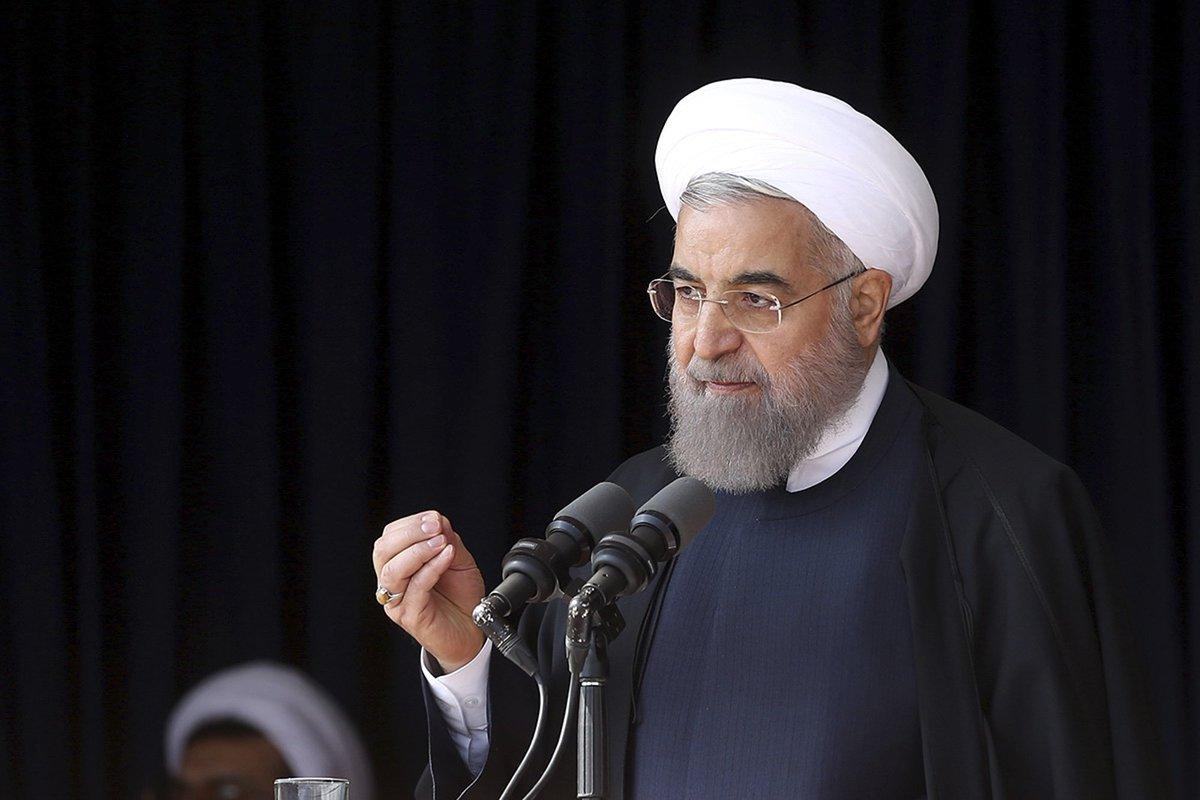Iran's president criticizes U.S. presidential candidates