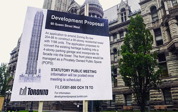 Someone is hilariously trolling Toronto condo proposals
