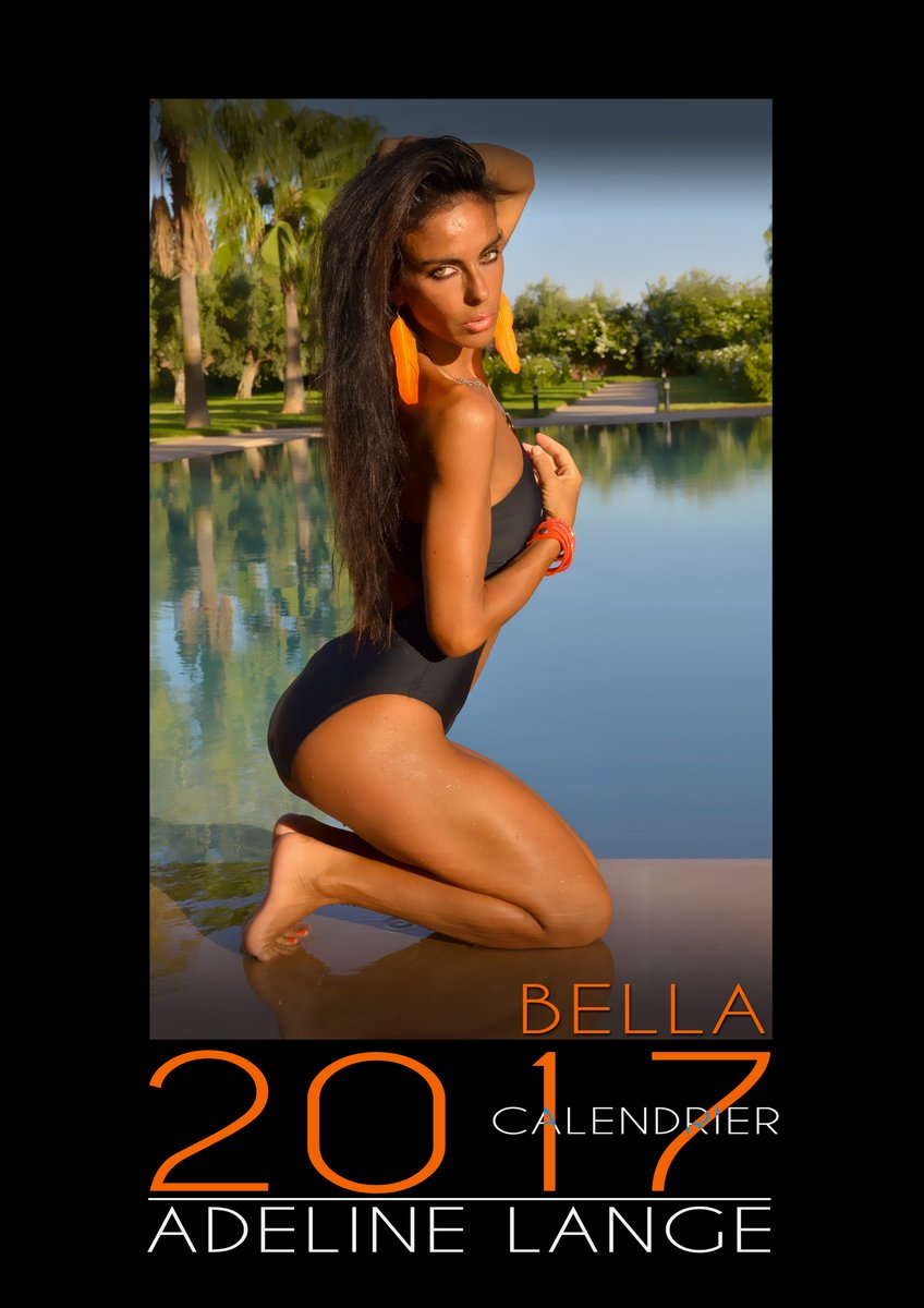 """Adeline Lange Porn adeline lange on twitter: """"my calendar 2017 """"bella"""" version"""