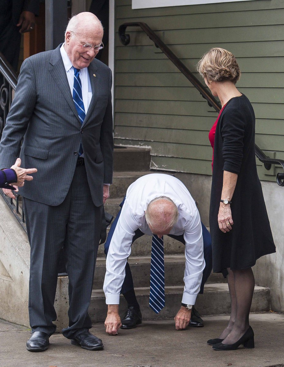 Life tip- find that thing you love as much as Joe Biden finding quarters on the ground, and do it forever. https://t.co/VwFXb3NB5h