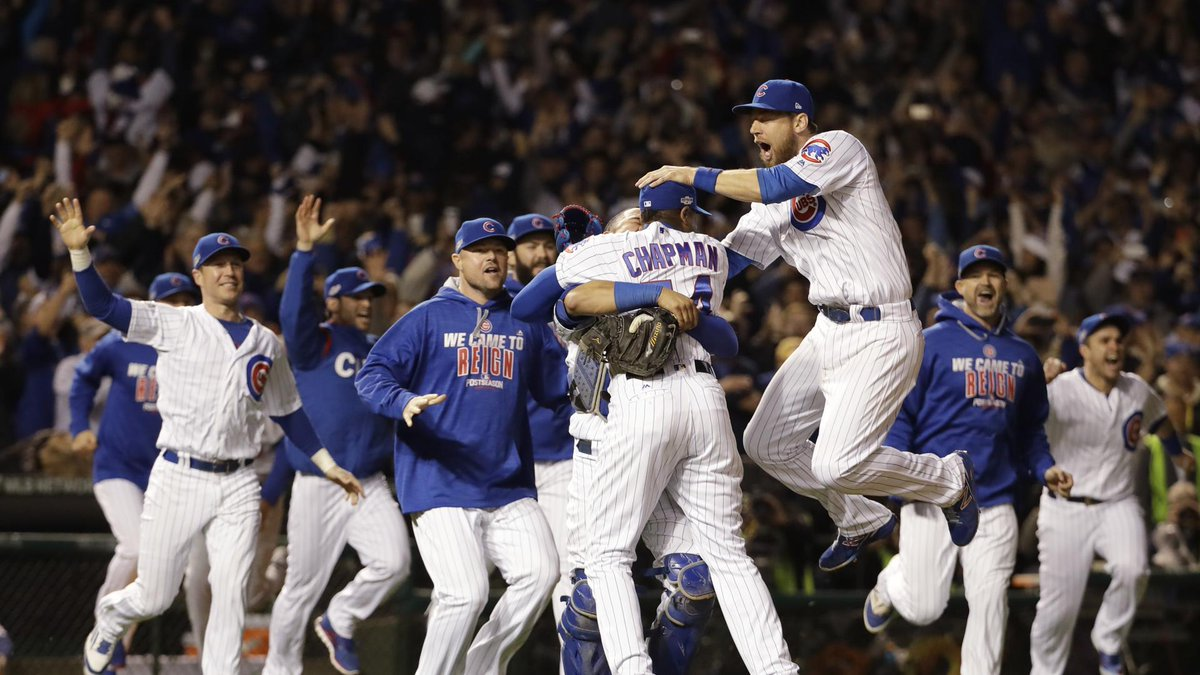 Forget the Billy Goat. Forget Bartman. The Chicago Cubs are headed back to the World Series.