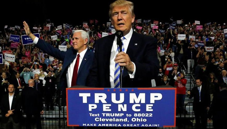 Donald Trump team says 'we are behind' but can still win election