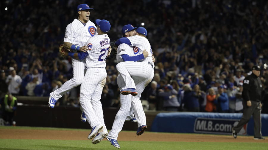 The Cubs' historic win last night provided plenty of lasting images. See the photos