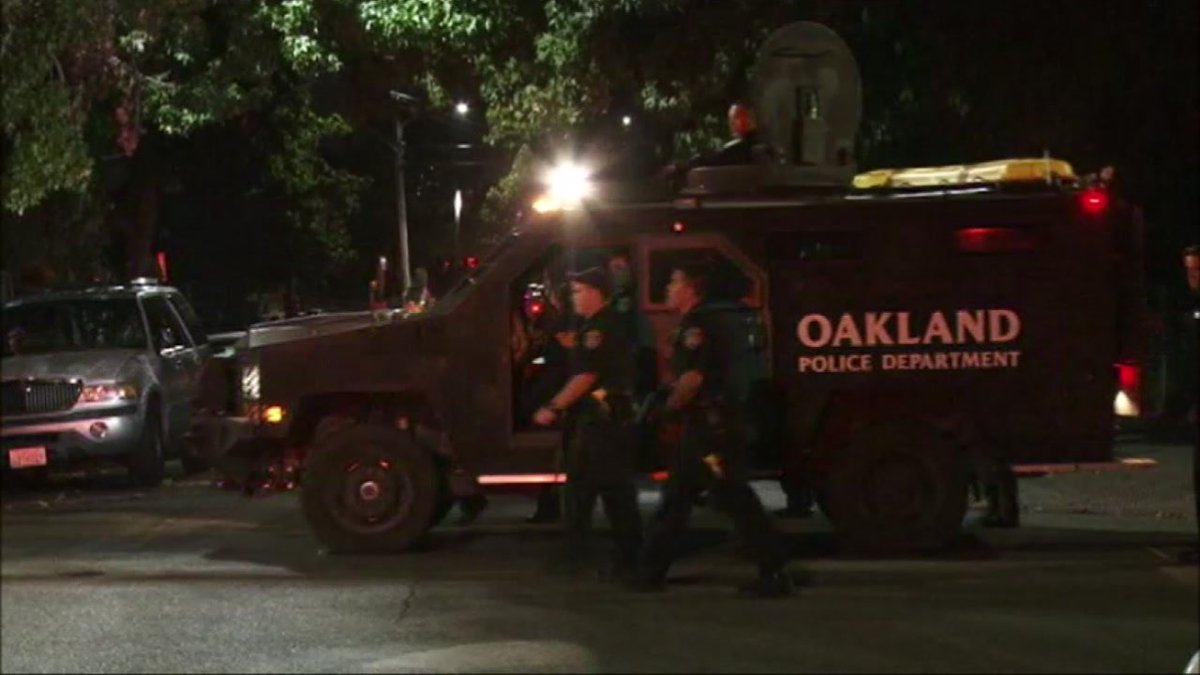 UPDATE: One victim has been released from the hospital following a shooting in Oakland that left 7 injured.