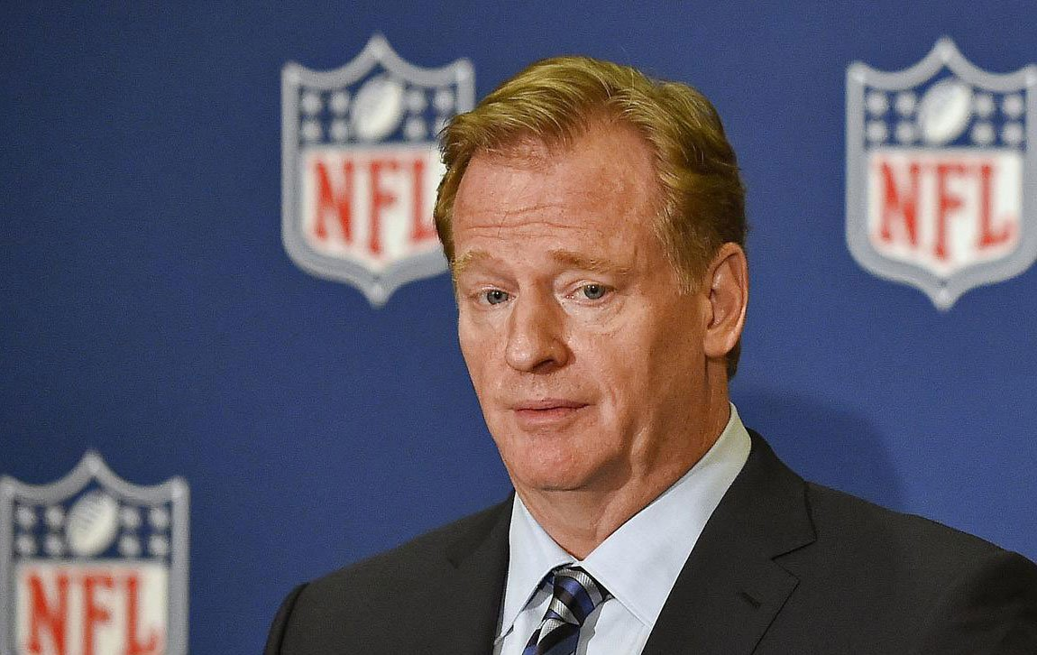 Roger Goodell gave a press conference. Here's a translation of what he said