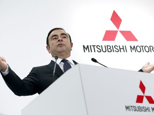Way clear for @Nissan's Ghosn to head @mitsucars