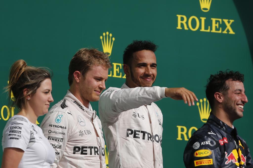 Formula Uno: Hamilton vince negli Stati Uniti davanti a Rosberg e Ricciardo.
