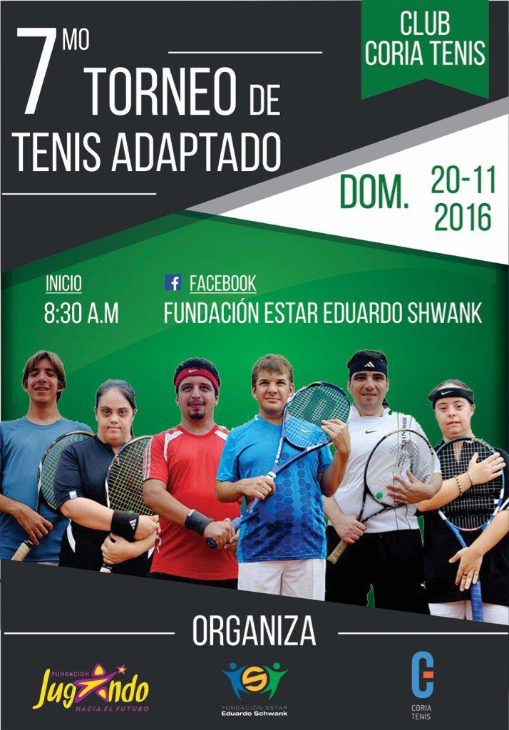 7mo torneo Tenis Adaptado. Difundir e invitados todos los que quieran colaborar! Gracias! https://t.co/rqZa7ZLYST