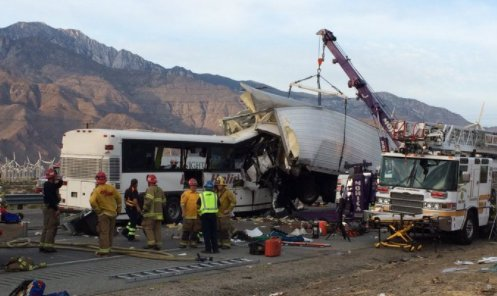 Death toll rises to at least 7 in tour bus crash on I-10