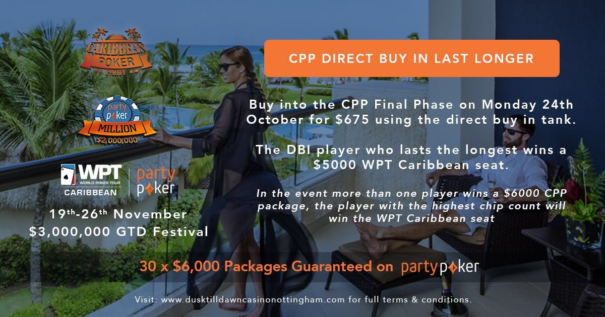 Caribbean Poker Party II presented by partypoker - 웹