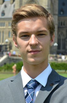 This 19-year-old has won the PC nomination for Niagara West-Glanbrook.