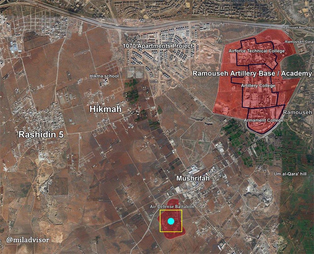 Битва за Алеппо. 23.10.2016