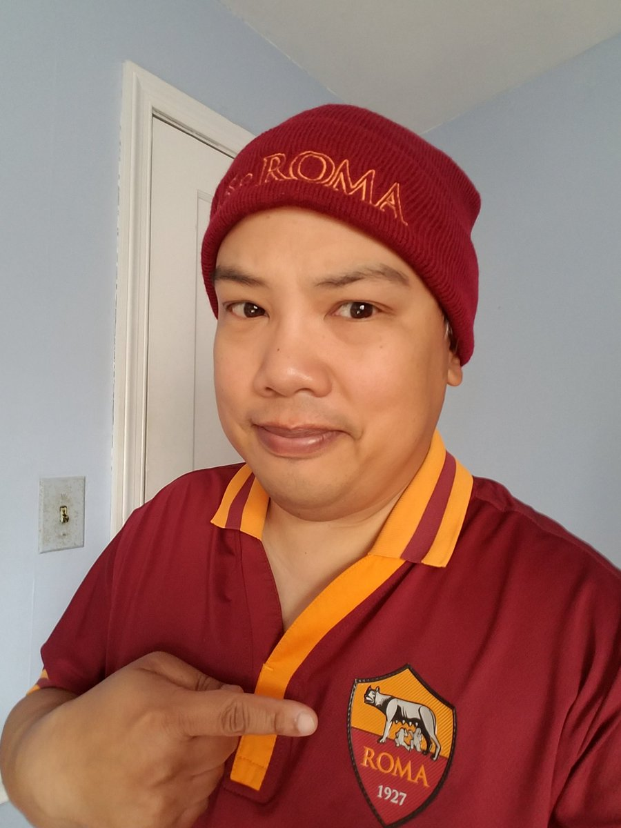 @ASRomaEN Supporting the #Giallorossi from Baltimore ahead of #RomaPalermo. https://t.co/ul5hdAMQex