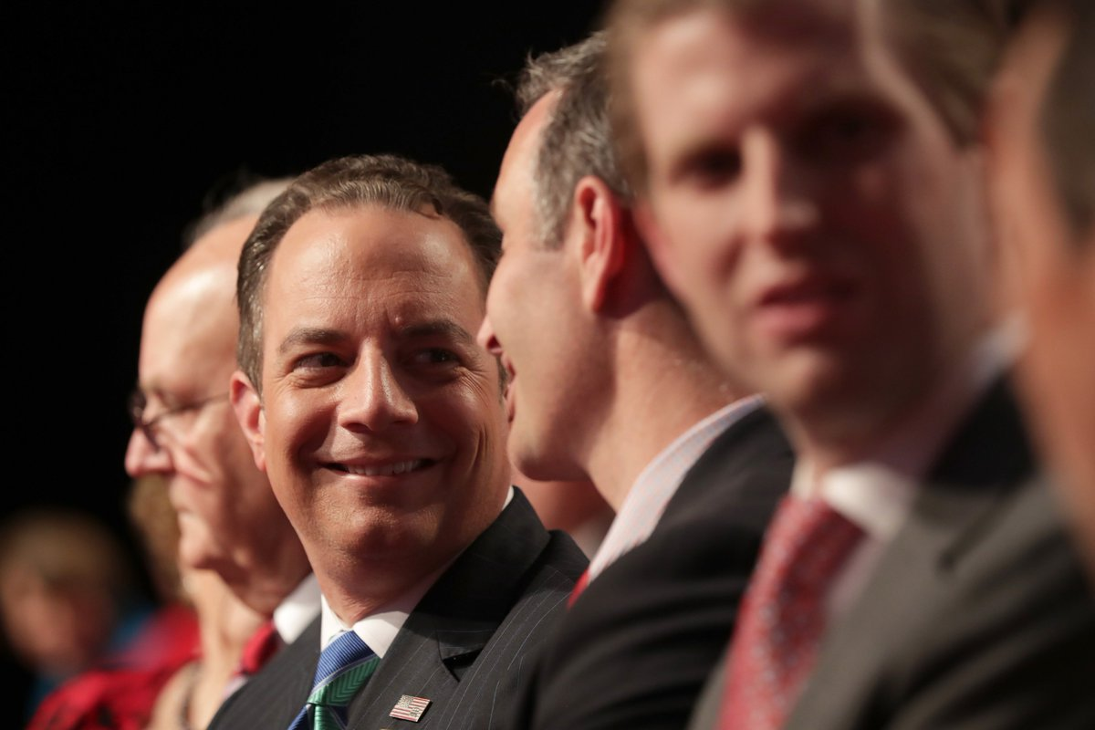 Reince Priebus said Donald Trump is going to win.