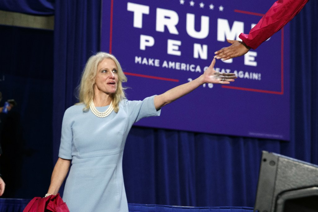 Donald Trump's campaign manager denies her tweets are cries for help