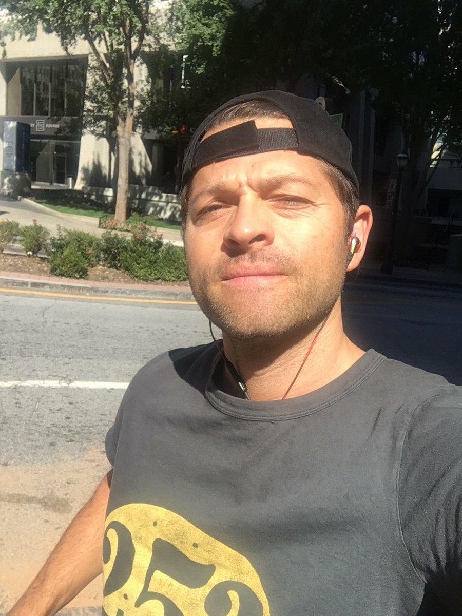 Misha Collins today 17