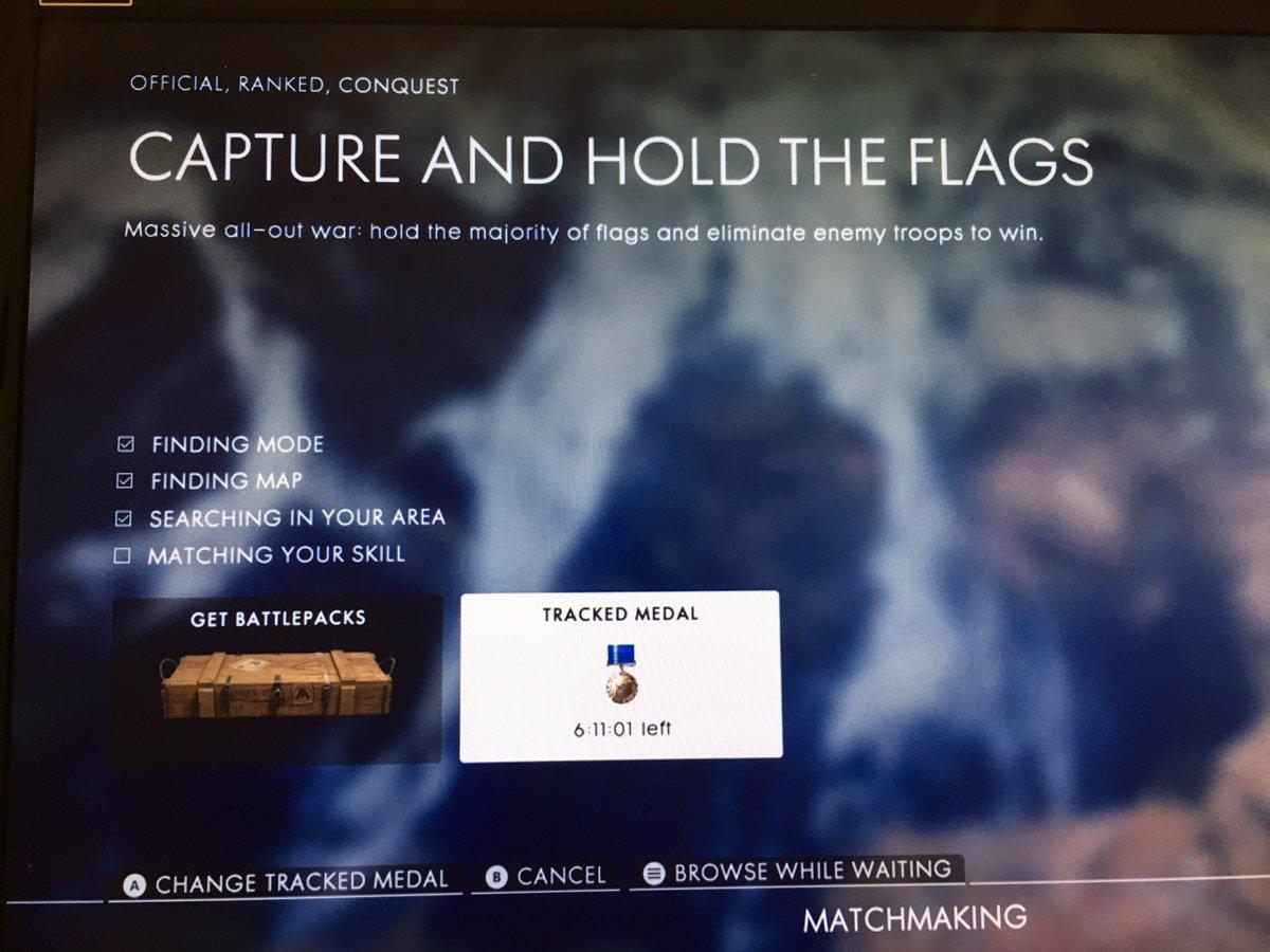 War matchmaking flags