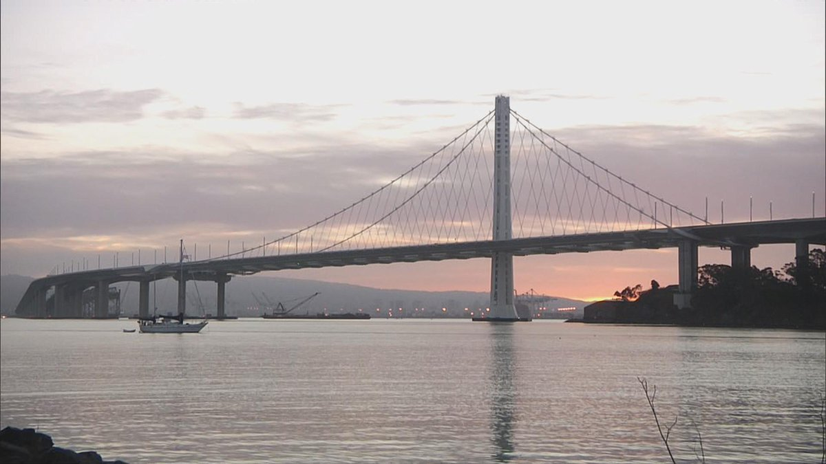 The sunrise was beautiful across the Bay Area today, but changes are coming!