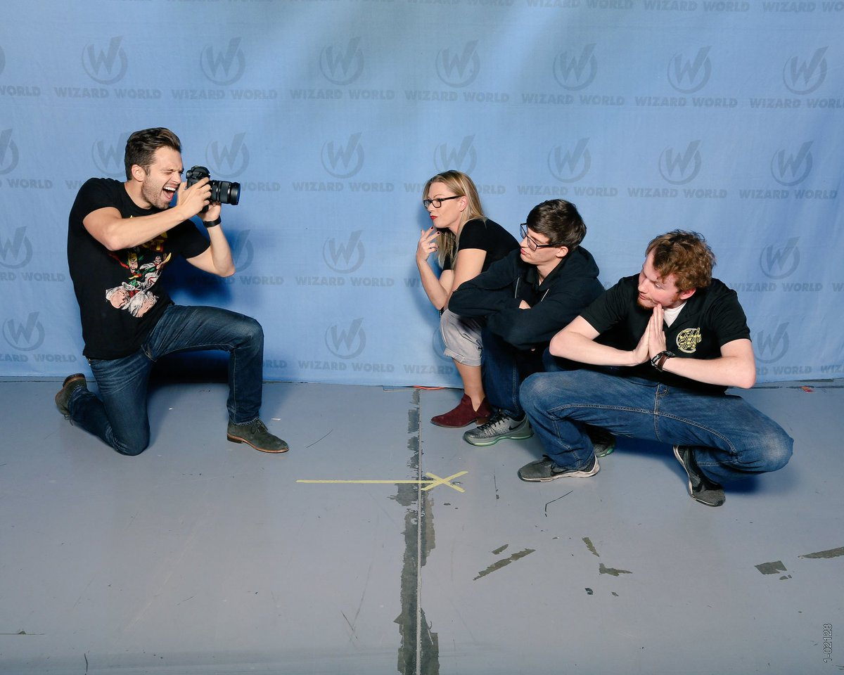 Who takes photos of the @CelebPhotoOps crew?  Well #sebastianstan of course. https://t.co/VDfChfs0mM