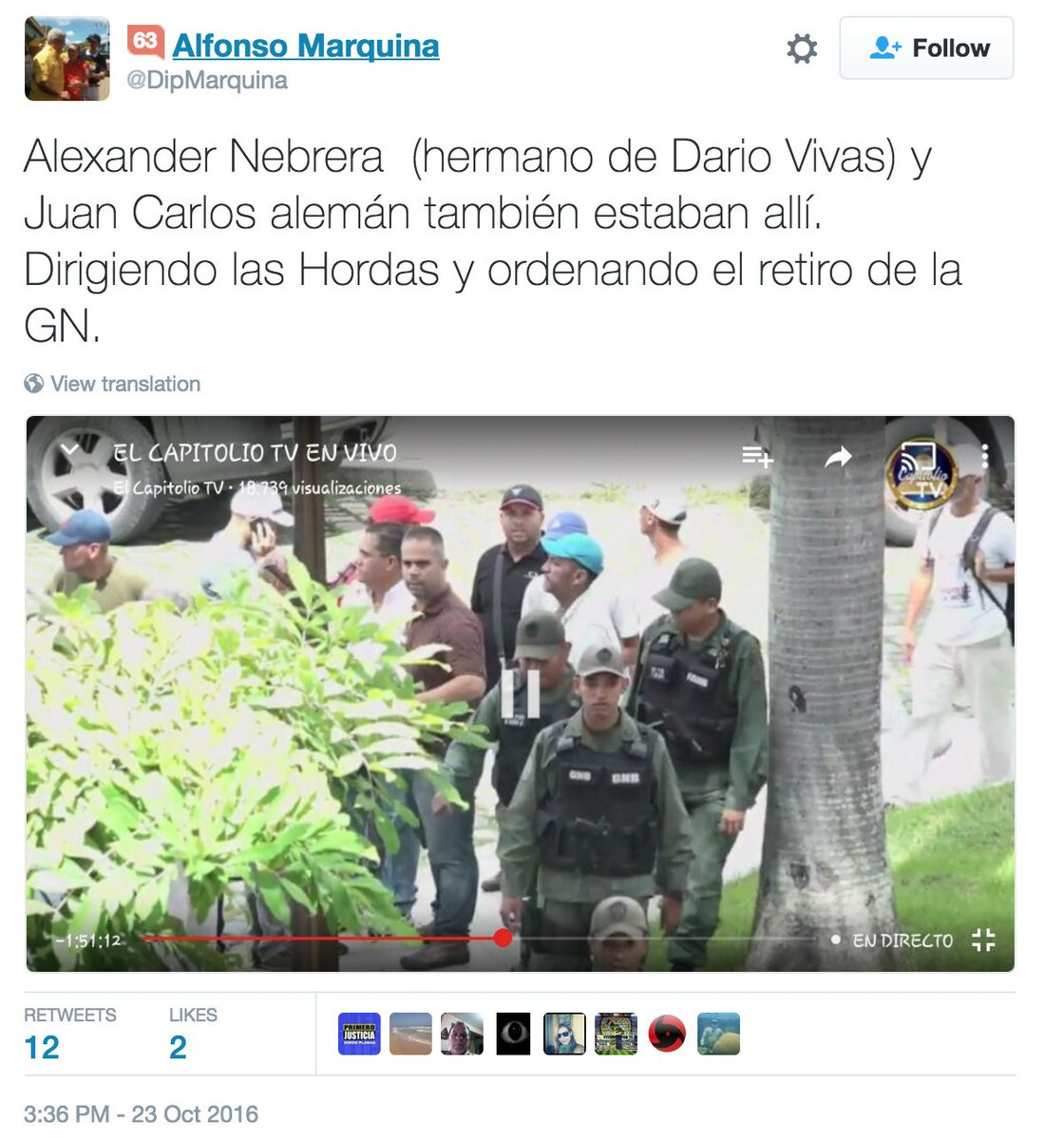 Marquina borró este tweet... https://t.co/XG3DTGi6h1