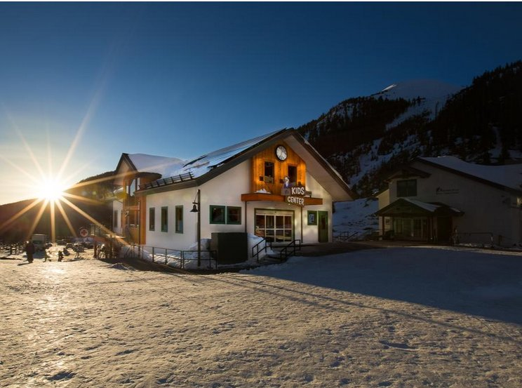 You've been itching to get out on the slopes, yes? There's already a resort open. ski