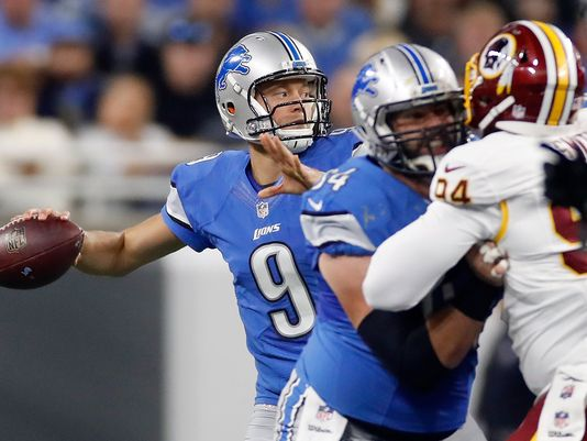 What a finish! Stafford rallies @Lions in final minute for third victory in a row