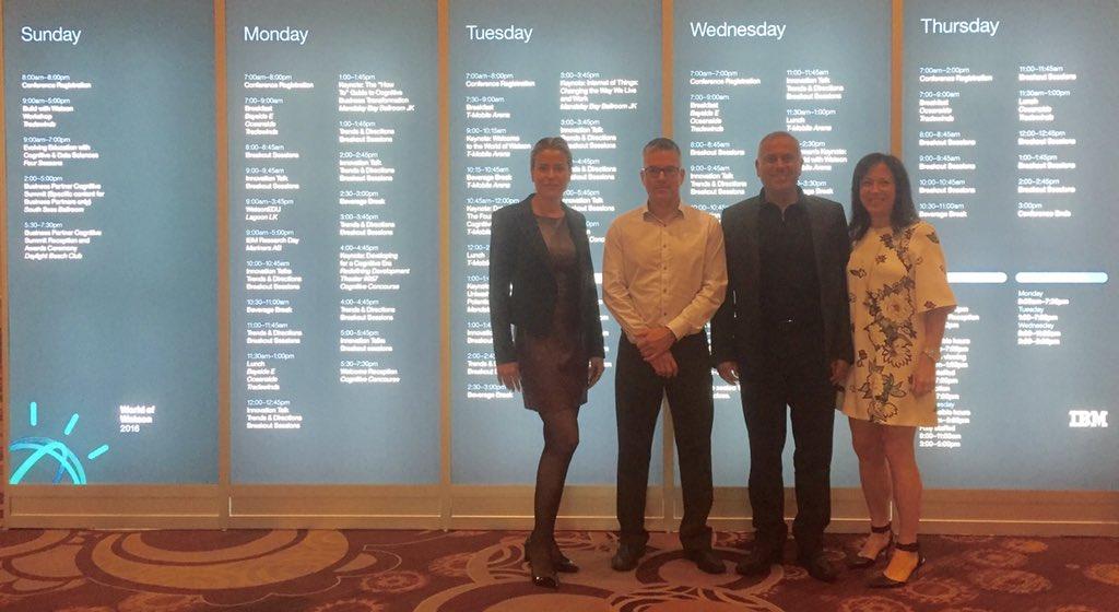 Let the conference begin #IBMWoW @KnowledgeKPI @cohenbenny #analytics #watson #digitalmarketing https://t.co/ntbzcrhyRM