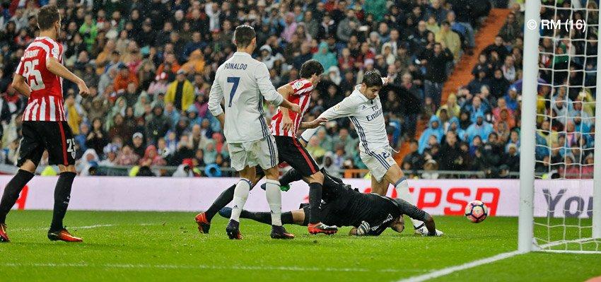 هدف ريال مدريد الثاني في مرمى أتلتيك بلباو