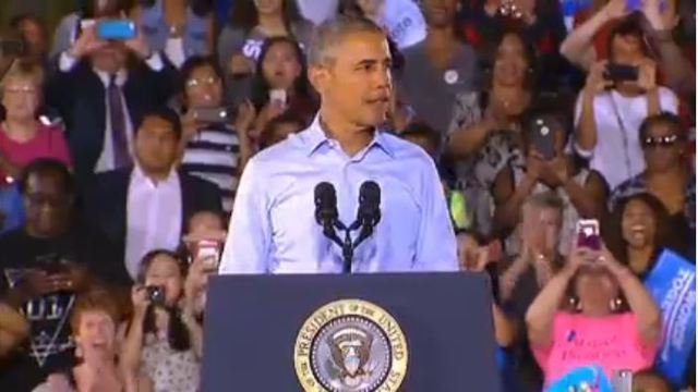 Obama says Nevadans have drawn a winning hand with Democrats 8NN
