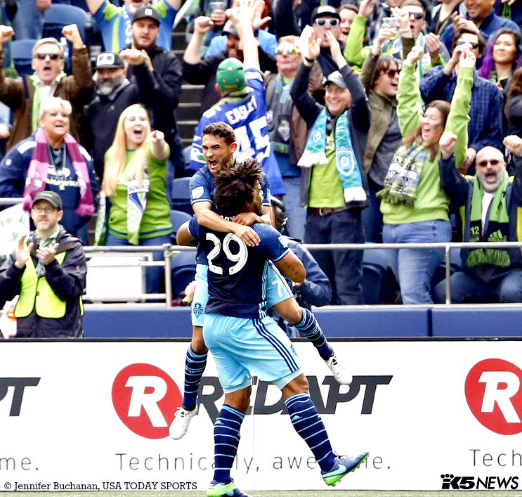 Sounders WIN and make the playoffs! @SoundersFC Sounders k5sports