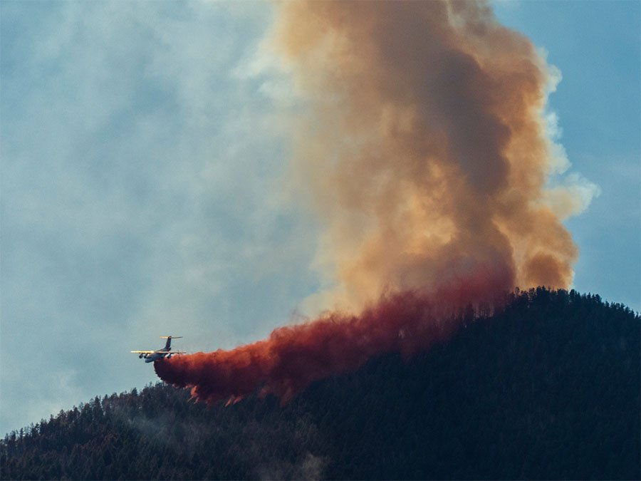 Heat, wind, clear skies intensify JunkinsFire; 9 homes destroyed, fire 39% contained