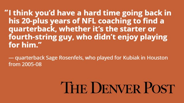 The QB Whisperer: How Gary Kubiak is able to get the best out of his quarterbacks Broncos