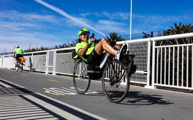 New Bay Bridge bike, pedestrian trail opens to Yerba Buena Island. via @jfloum