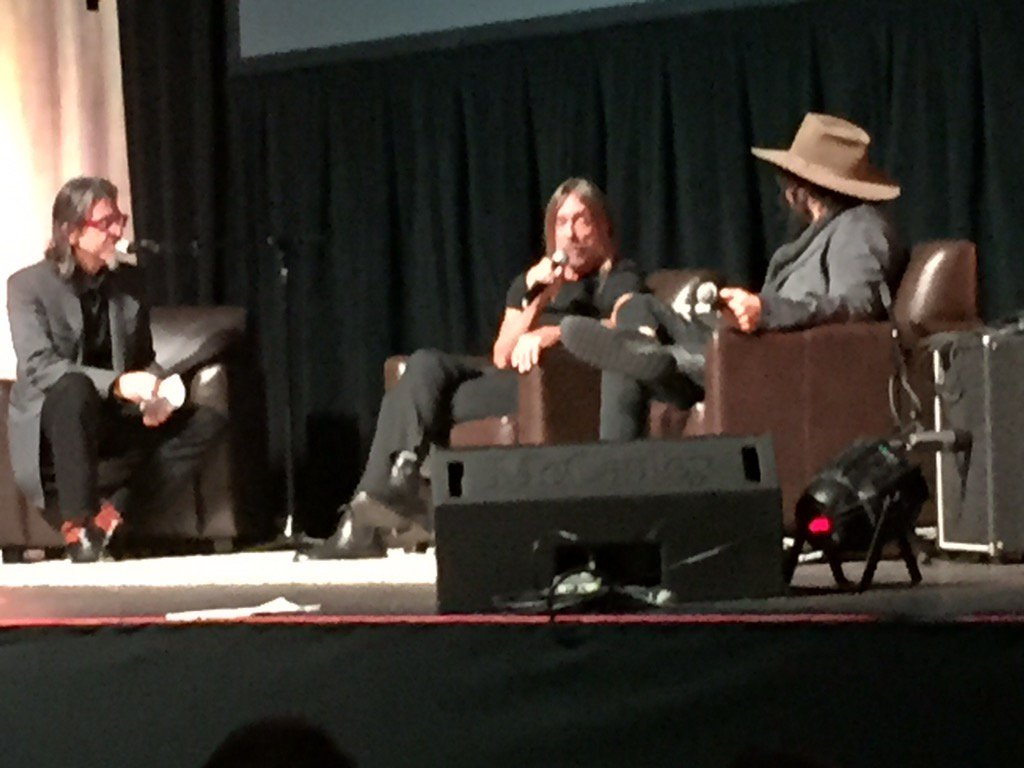 Iggy Pop and Don Was are at the Majestic tonight, talking Detroit music with @GRAMMYFdn Scott Goldman.