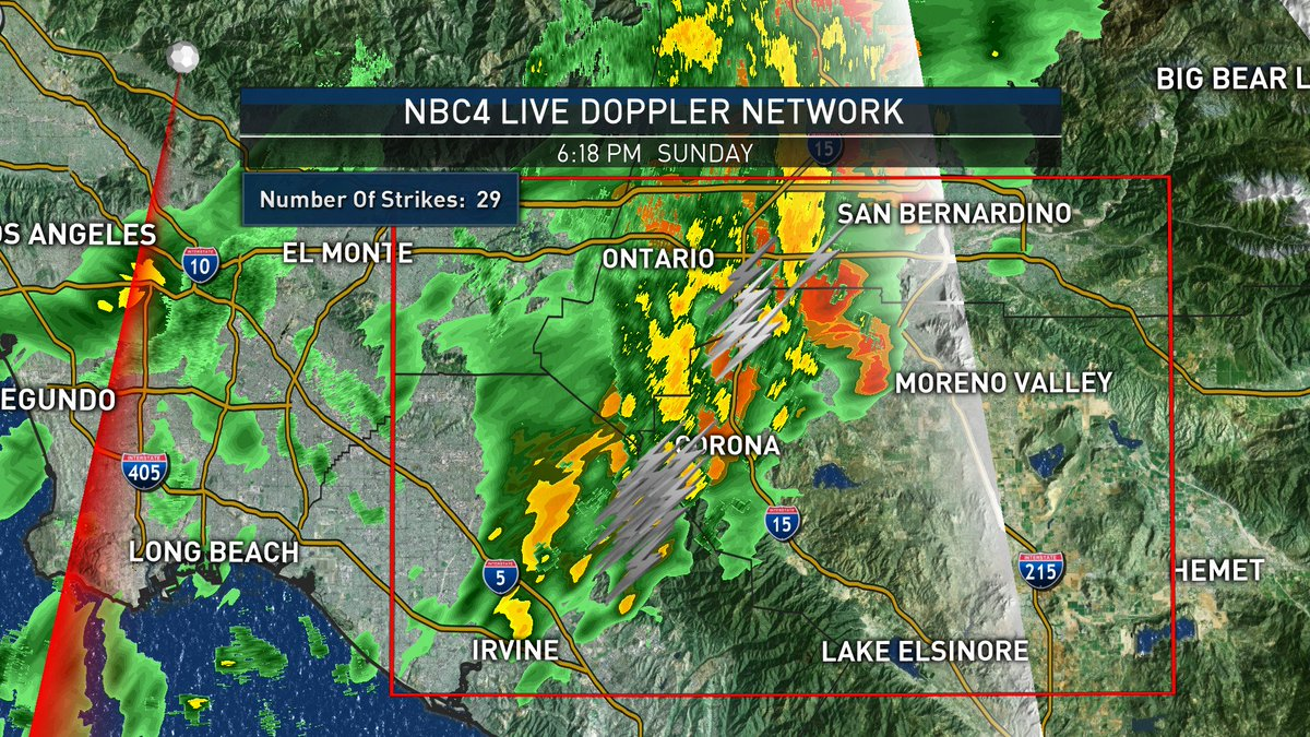 29 Lightning strikes in the past half hour. Be careful tonight, when thunder roars, get indoors. NBC4You