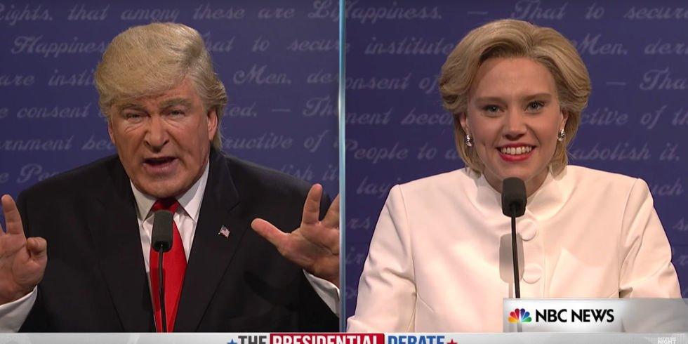 SNL's Final Clinton-Trump Debate Spoof Is the Best One Yet https://t.co/dFofQzlVj8 https://t.co/oGD4ED2Phw
