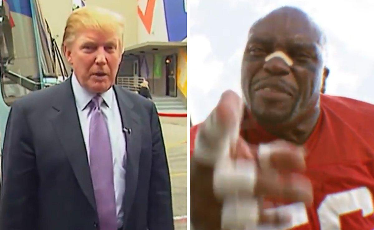 SEE IT: Office linebacker Terry Tate returns to tackle Donald Trump for 'locker room' talk