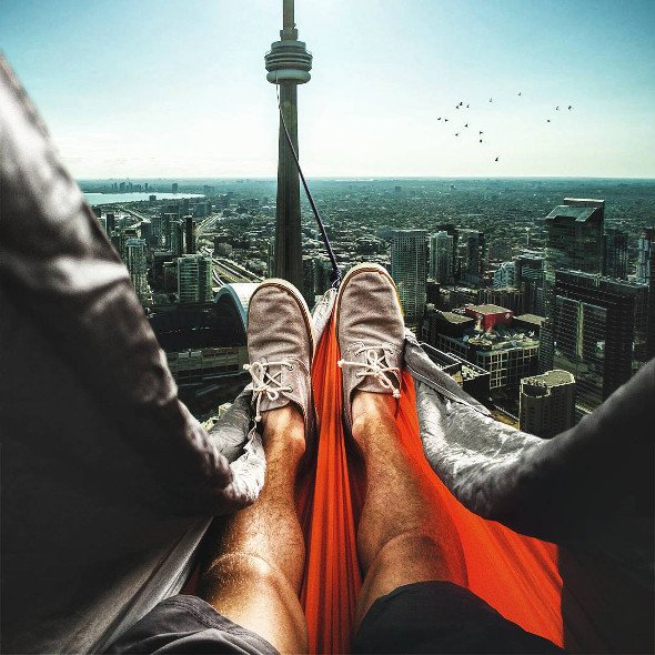 This is Toronto like you've never seen it before
