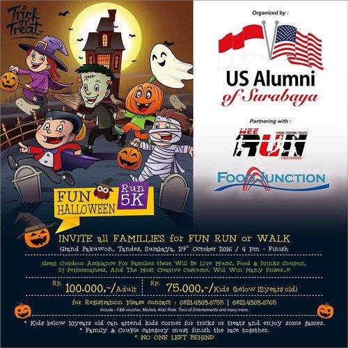 Halloween Fun Run Surabaya • 2016